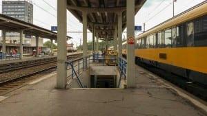 2.nástupiště v Havířově