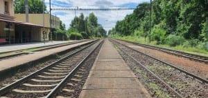 Popis nádraží Hluboká n.Vltavou