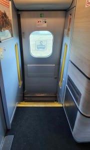 Dveře vozu 081 Pendolino