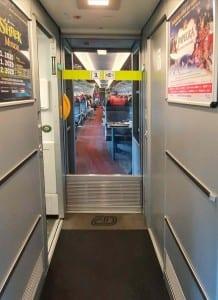 Ve vlaku na záchod Pendolino