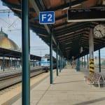 Plzeň hlavní nádraží - 2.nástupiště