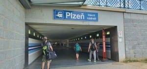 Podchod v Plzni