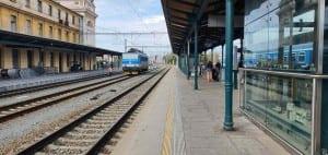 4.nástupiště Plzeň hlavní nádraží