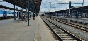 Plzeň main train station