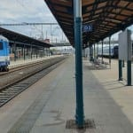 3.nástupiště v Plzni
