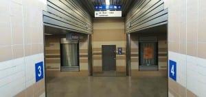 Pravý podchod pod hlavním nádražím v Plzni