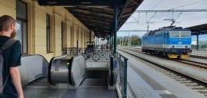 Plzeň hlavní nádraží - 5.nástupiště