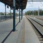 Plzeň hlavní nádraží u 5.nástupiště
