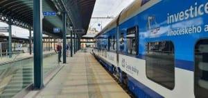 7.nástupiště v Plzni