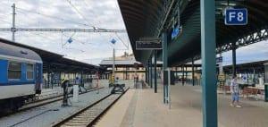 Train station plzeň hl.nádraží
