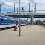 Plzen main train station