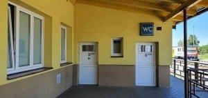 Polička nádraží záchody