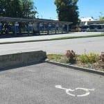 Polička autobusové nádraží