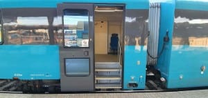 Dveře vozu Arriva 945