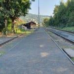 Malá Skála popis nádraží