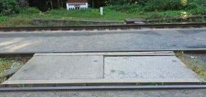 Malá Skála - přístup k vlaku