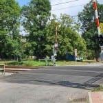 Spytihněv - železniční přejezd