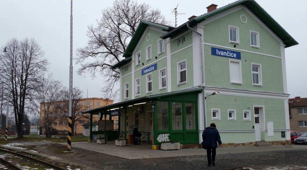 Popis Ivančického nádraží