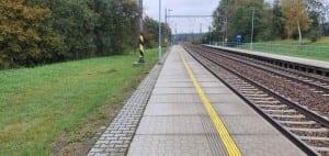 1.nástupiště v Laštovičkách