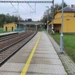 Laštovičky vlakem