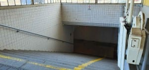 Přelouč podchod pod nádražím