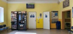 Train station Prelouc
