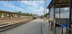 Přelouč - vlaky směr Heřmanův Městec