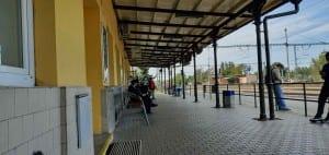 Přelouč na nádraží