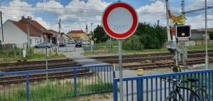 Vranovice - přechod kolejí