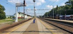 Zábřeh na Morav vlakem