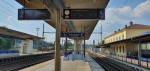2.nástupiště v Zábřehu na Moravě