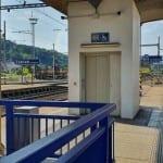 Na nádraží v Zábřehu na Moravě