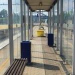 1.nástupiště v Zábřehu na Moravě