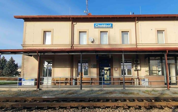 Chotěboř nádraží