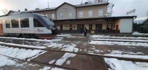 Přístup na vlak Dolní Lipka