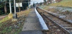 Sobíňov train station