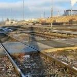 Přístup na vlak ve Ždírci n. Doubravou