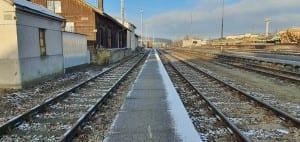 Ždírec nad Doubravou vlakem