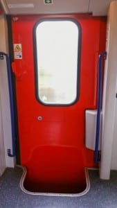 Dveře vozu ABmz 346