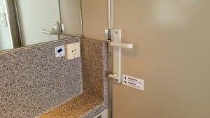 Popis záchodu ve voze ABmz 346