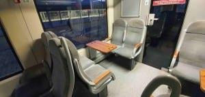Sedadla ve voze LE 846