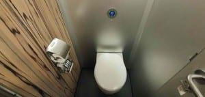 Záchod ve voze Afmpz 890