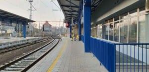 1. nástupiště u 6. koleje v Havlíčkově Brodě