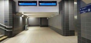 Podchod na nádraží v Havlíčkově Brodě