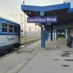 Kde je v Havlíčkově Brodě 5. nástupiště