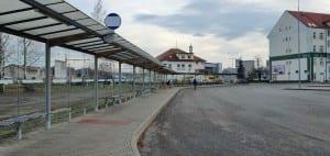 Autobusové nádraží v Havlíčkově Brodě