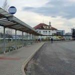 Zastávky MHD u nádraží v Havlíčkově Brodě