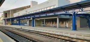 Havlíčkův Brod 1. nástupiště