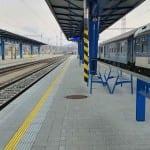 4. nástupiště v Havlíčkově Brodě