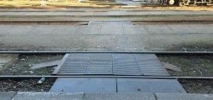 Přístup na 5. nástupiště v Havlíčkově Brodě
